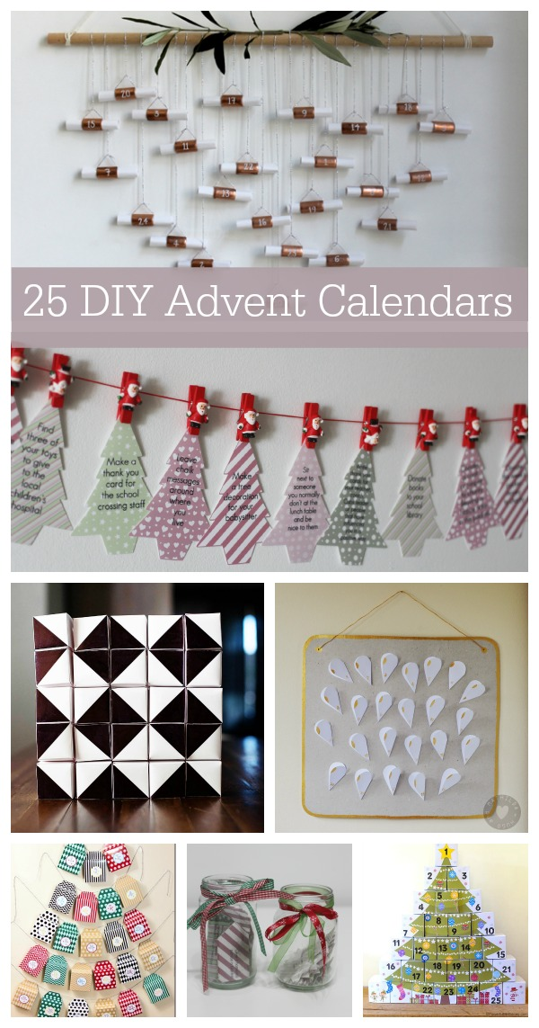 25 Homemade advent calendars