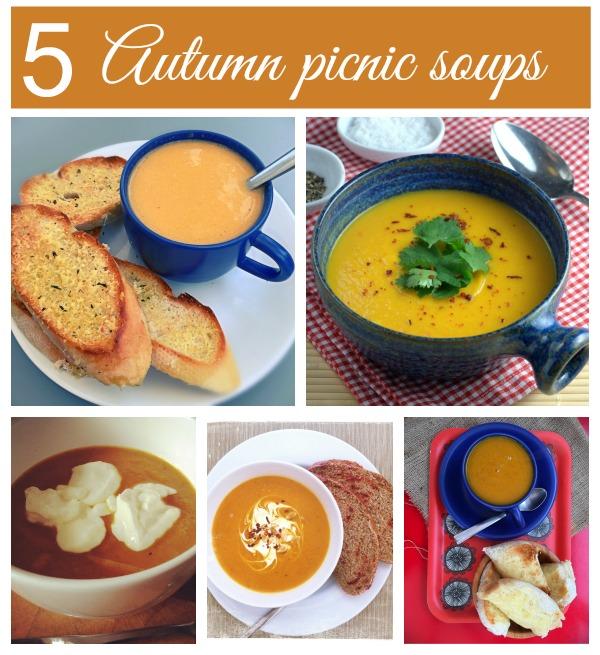 Autumn picnic soups