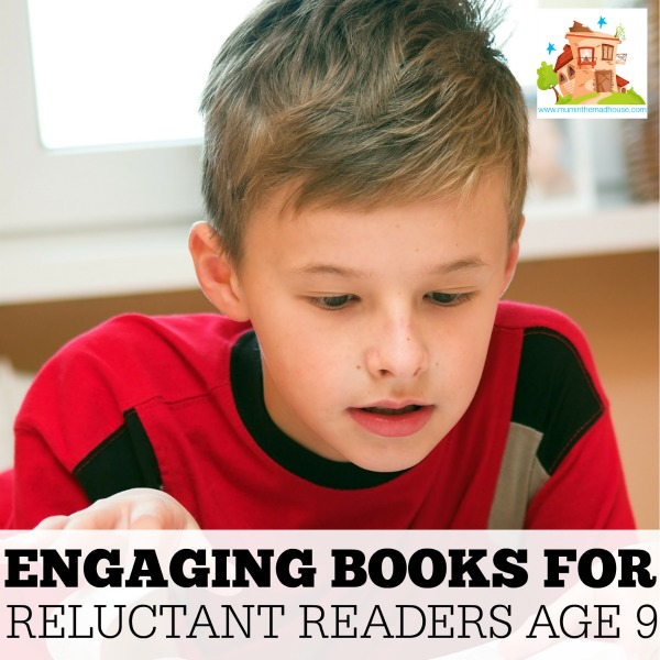 Engaging books for reluctant readers aged 9 facebook