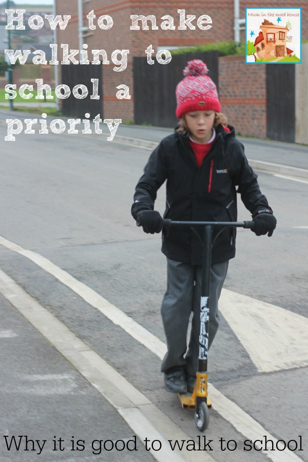 How to make walking to school a priority