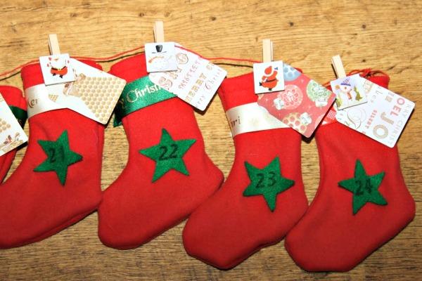 advent stockings
