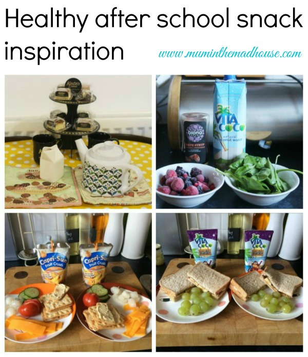 healthy after school snack inspiration