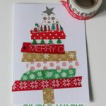 Easy kid made Christmas cards