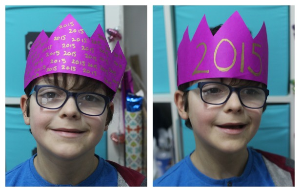 New years wish crackers mum in the madhouse 2015 paper hat solutioingenieria Gallery