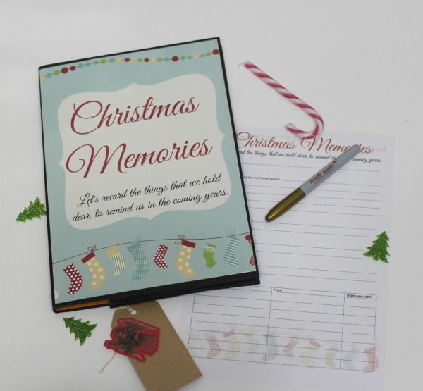 image about Printable Christmas Books named Xmas Recollections Guide and Xmas reflections printable