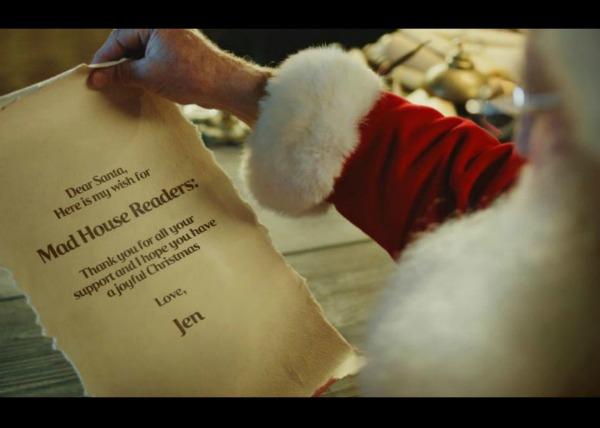 coke santa letter