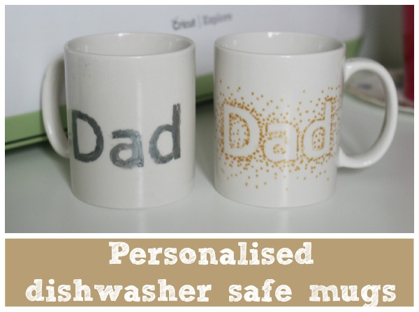personalised dishwasher safe mugs