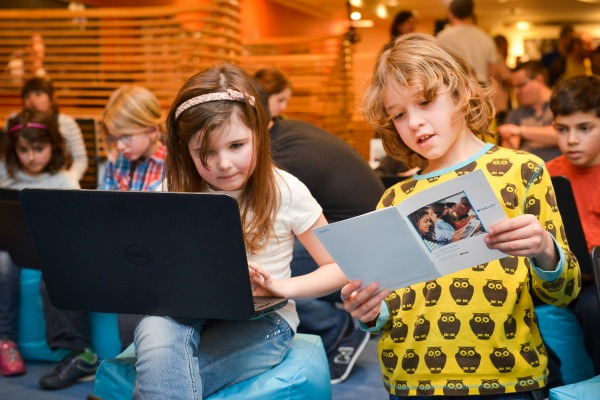 Barclays Code Playground session at the Piccadilly branch
