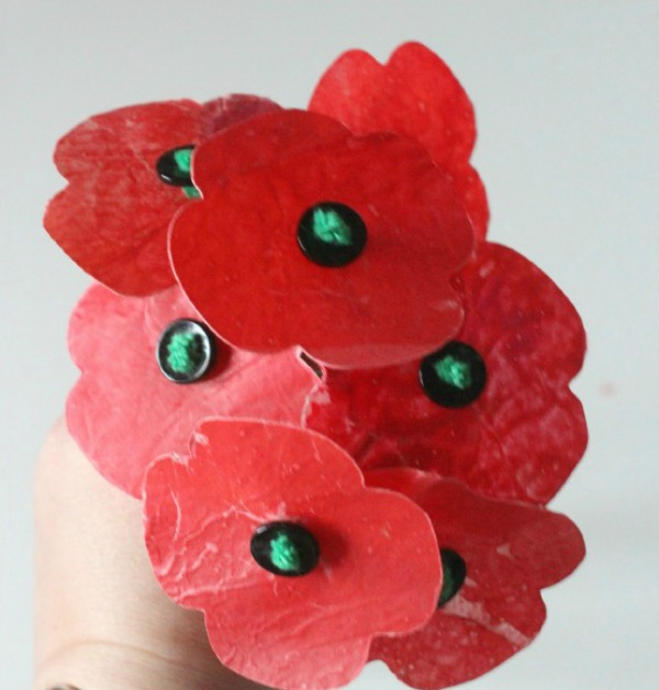 Melted-crayon-wax-poppies