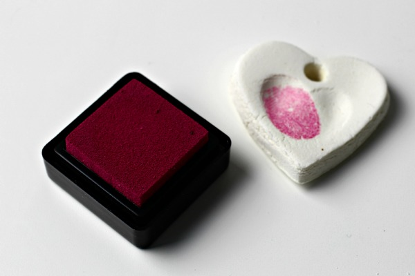 heart and ink pad