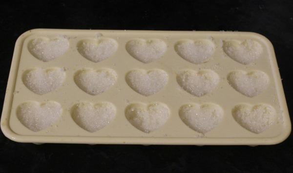 heart shaped sugar cubes 2