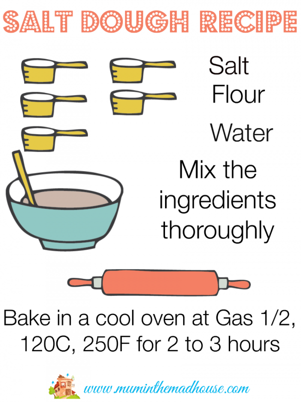 salt dough recipe mum in the mad house