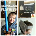 10 Recycled playsets – #Fabulously Frugal 22 February