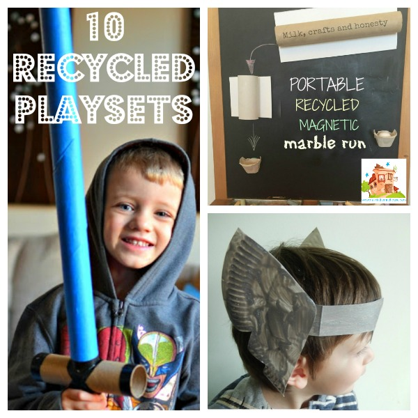 10 Recycled playsets square