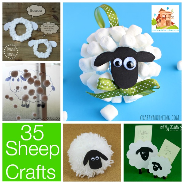 35 Spring Lamb And Sheep Crafts Mum In The Madhouse