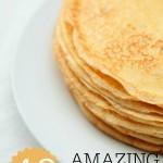 40 Amazing pancake toppings