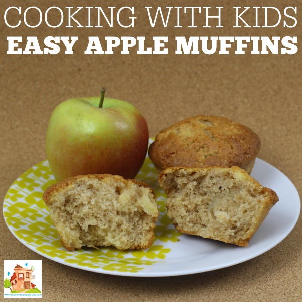 Easy apple muffins - facebook