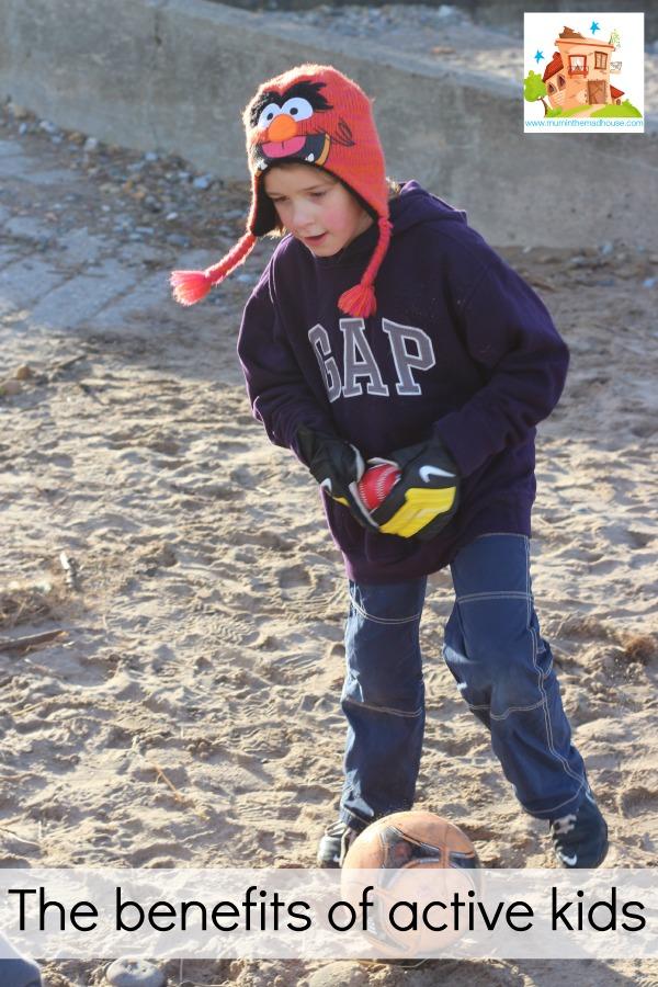 The benefits of active kids