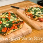 Vegetable & Salsa Verde Scone Pizza – Kids in the Kitchen