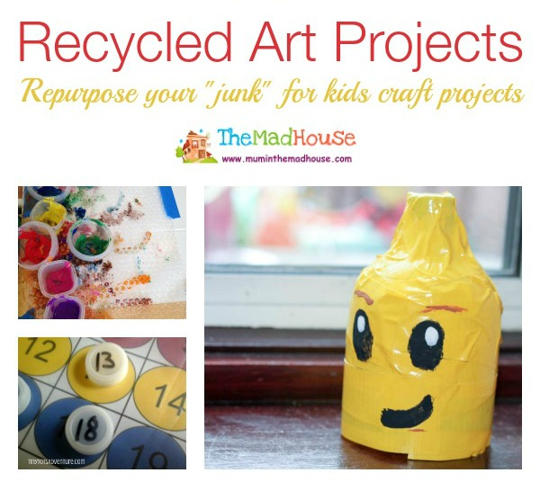 recycled art projects facebook