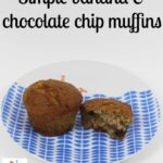 B is for.. Banana Muffins – Cooking with kids