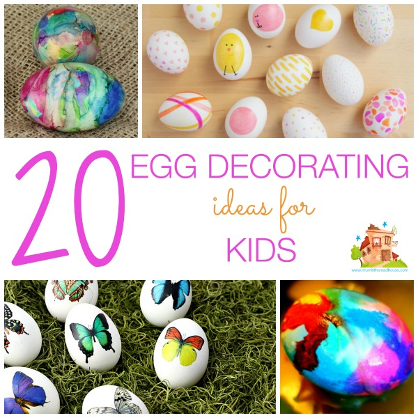 20 Egg Decorating Ideas For Kids