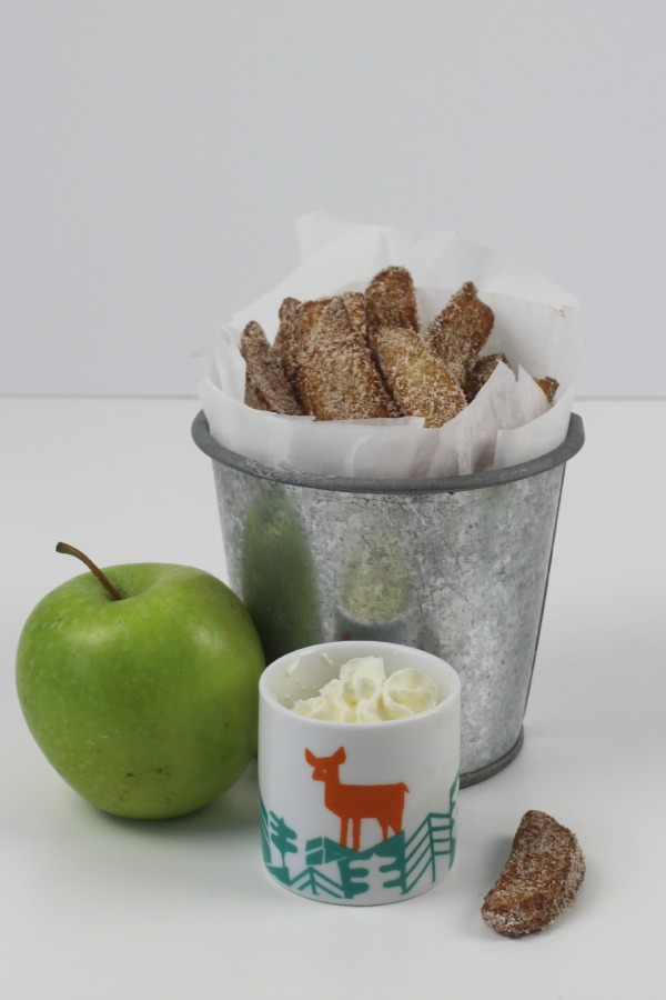 Cinnamon apple fries 4
