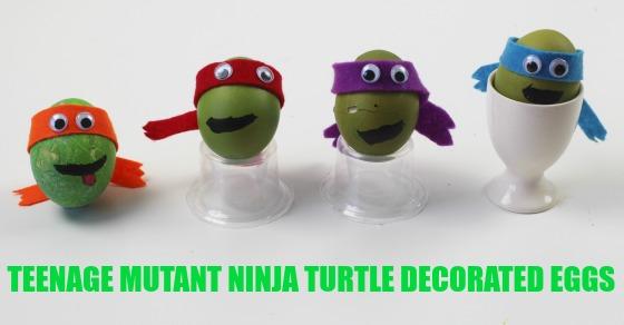 Teenage Mutant Ninja Turtle Decorated Eggs Mum In The Madhouse