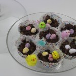 Chocolate cornflake nests – cooking with kids
