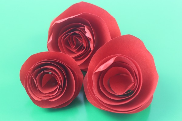 paper rose on greed