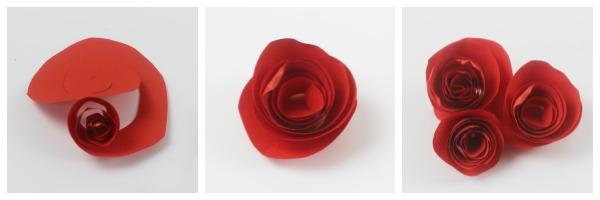 paper roses tutorial 2