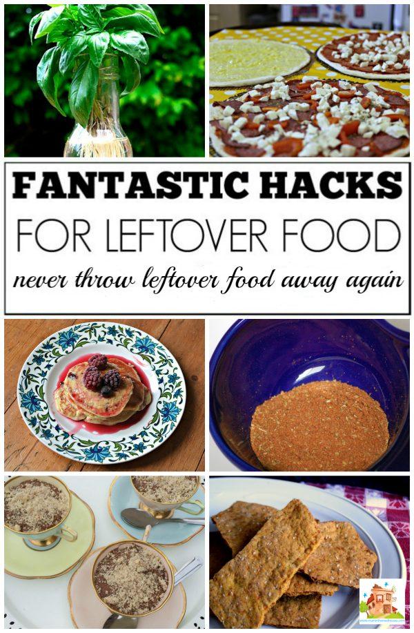 Food checks for leftovers