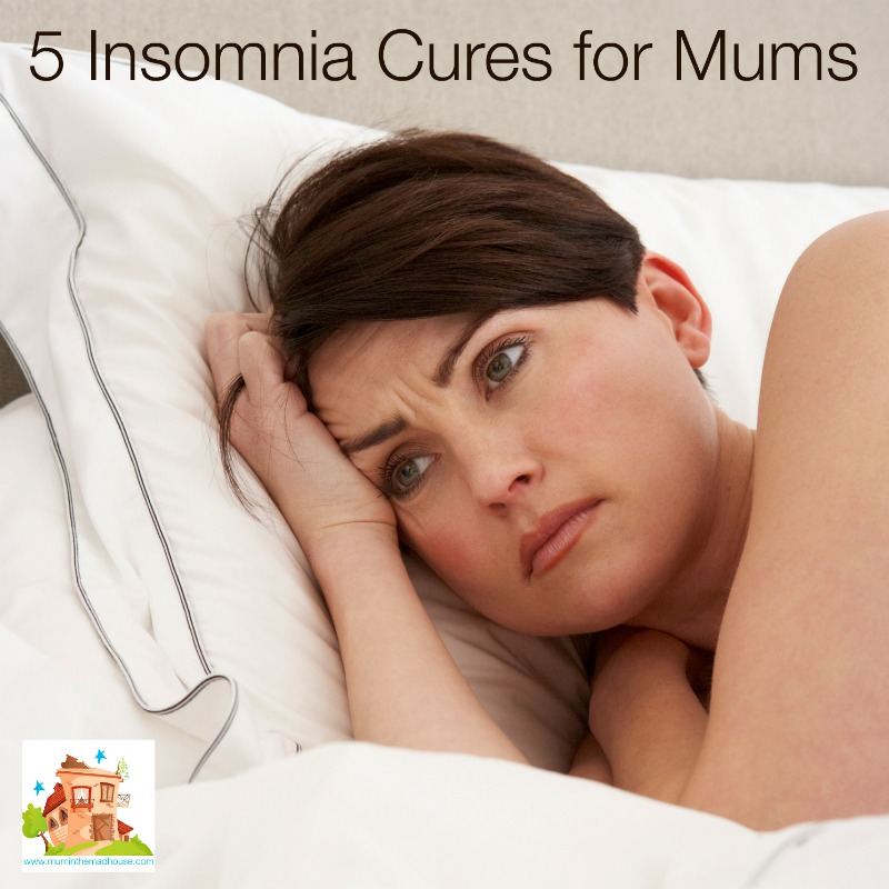 Insomnia Cures for Mums facebook