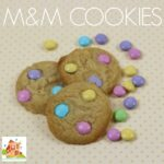 M&M Cookies – Cooking with kids