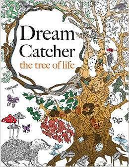Dream Catcher The Tree Of Life US Link UK Download 4 Really RELAXING Colouring Book
