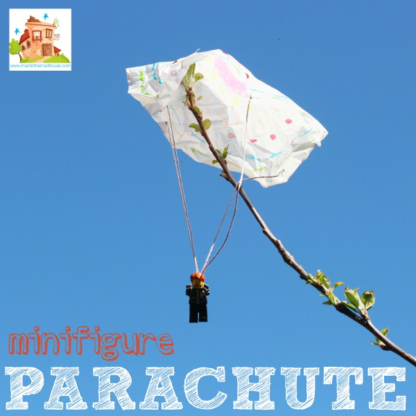 minifigure parachute