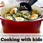 Classic kedgeree with green asparagus – Cooking with kids and Marley Spoon