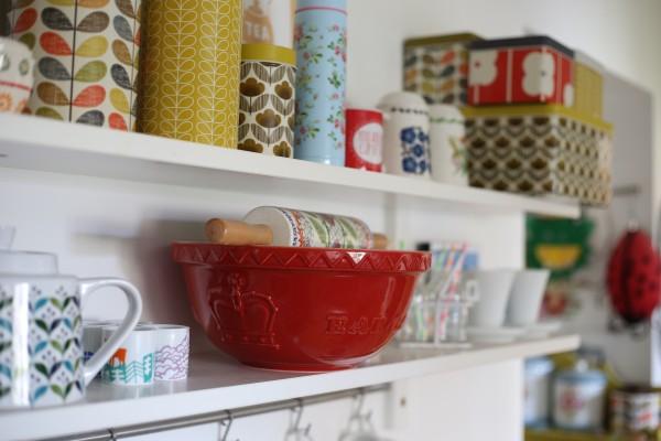 Crockery and pots