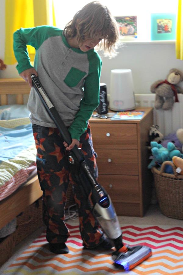 Maxi vacuuming