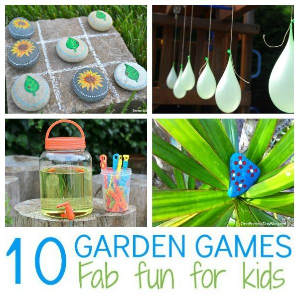 Garden Games Swuare