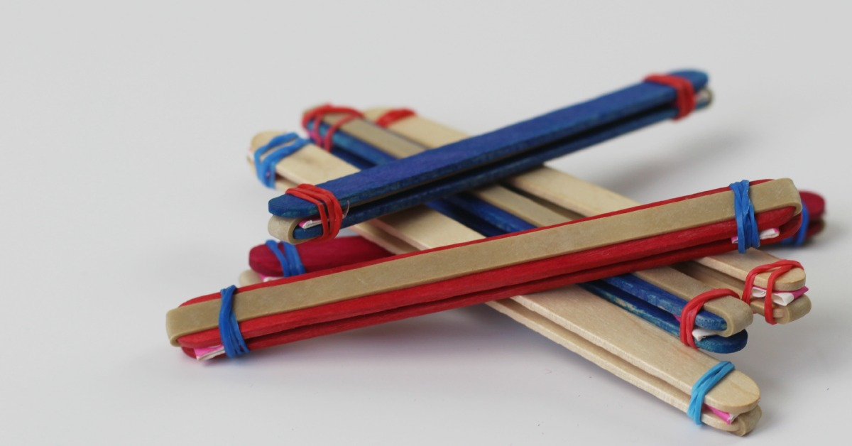 How to make Lolly or popsicle stick harmonica