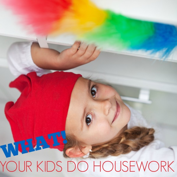Do your kids do the housework
