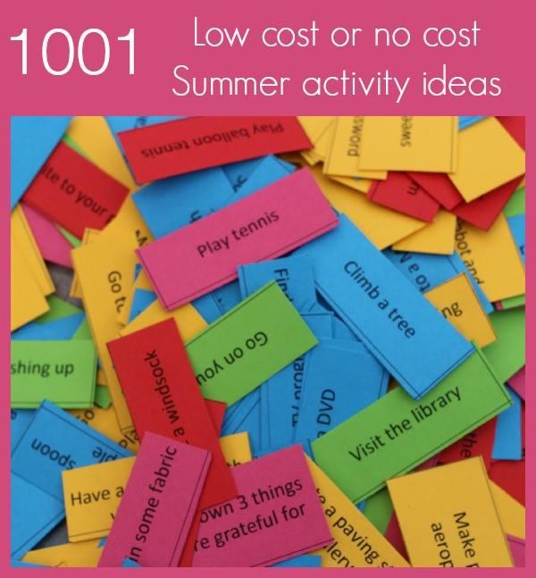 1001 Summer activities