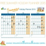 Free Summer Planner and Share your top family meal and win