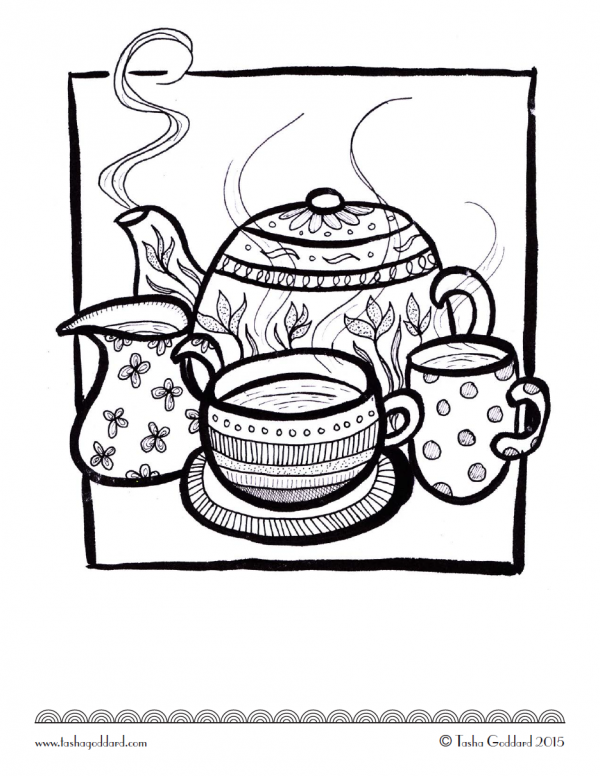 More great free colouring pages for adults - Mum In The Madhouse