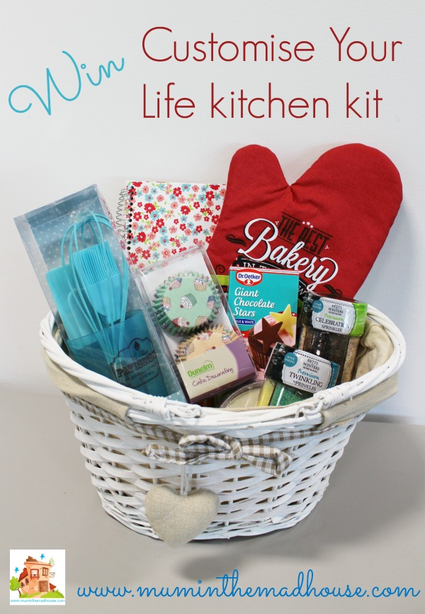 Win Customise Your Life kitchen kit