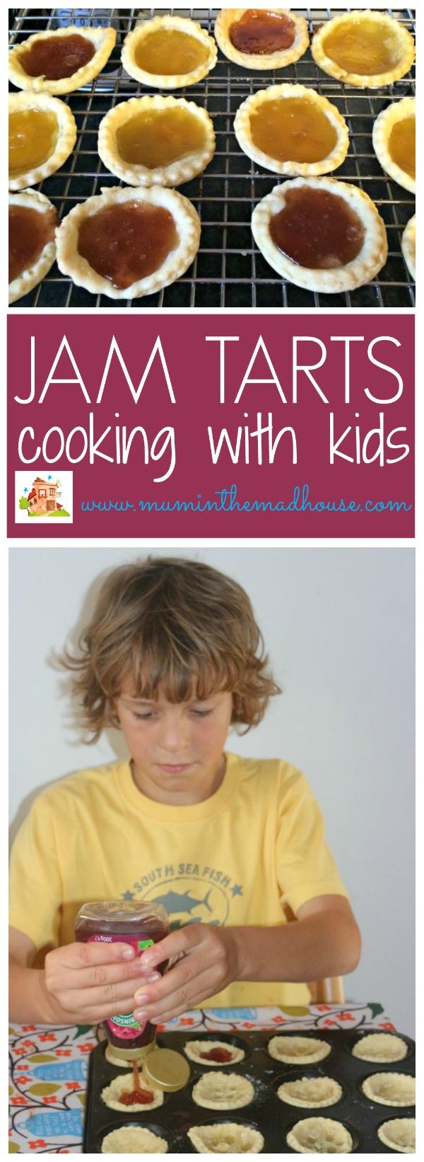 cooking with kids jam tarts