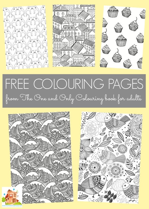 Free Colouring Pages From The One And Only Book For Adults
