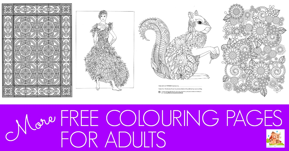 more free colouring pages facebook