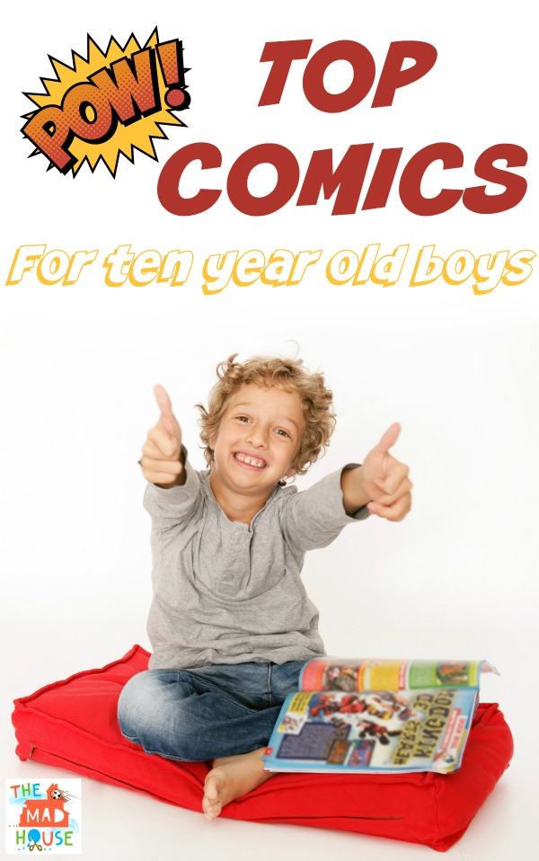 top comics for ten year old boys